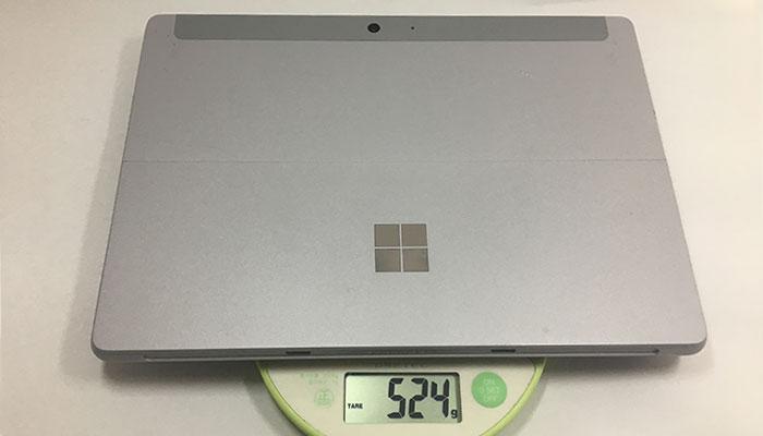 Surface Go 重量