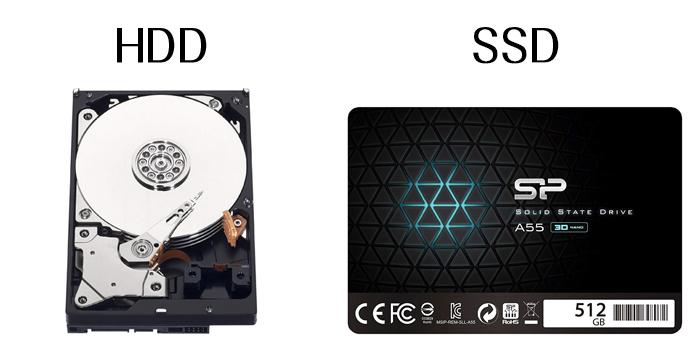 そもそもHDD/SDDとは