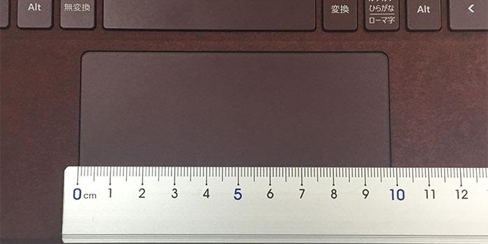 Surface Go タッチパッド