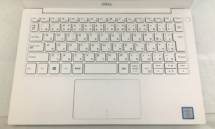 Dell XPS13 キーボード