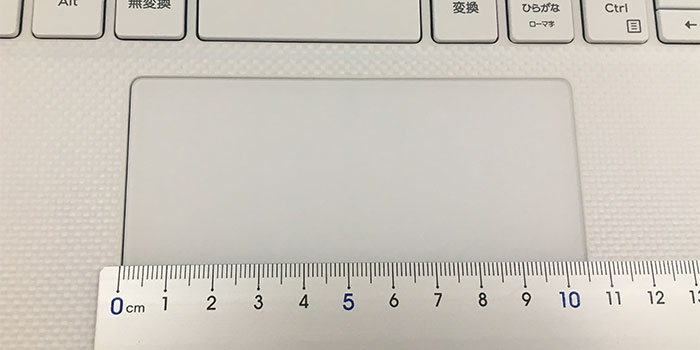 Dell XPS13 タッチパッド