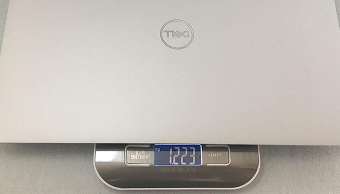 Dell XPS13 重量