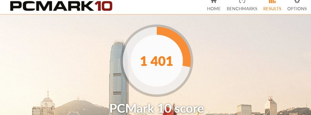 HP 14s PCMARK