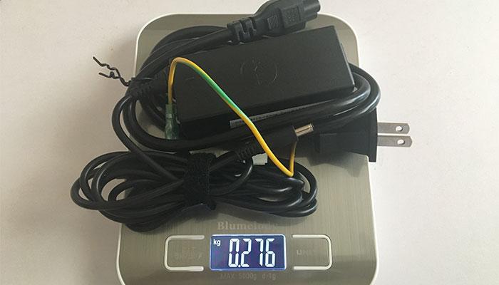 Inspiron15 2in1 AC重量