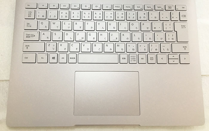 Surface book2 13インチ キーボード