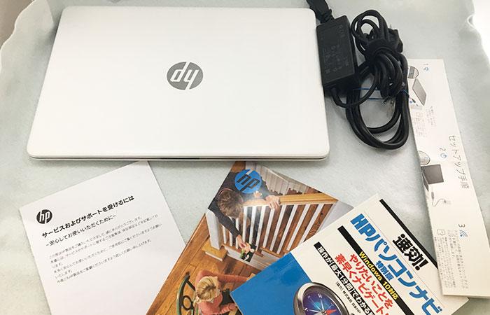 HP14s 同梱物