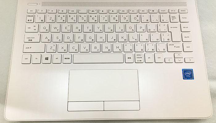 HP 14s キーボード