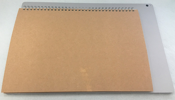 Surface book2 15 サイズ比較