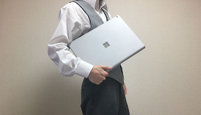 Surface book2 15インチ