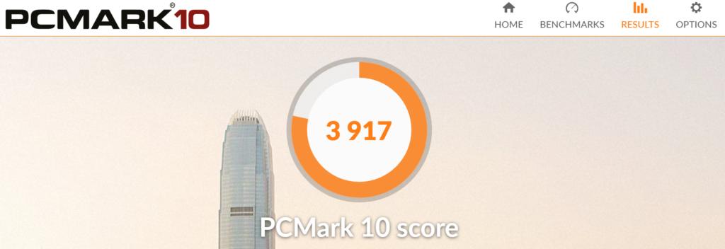 Surface book2 15 PCMARK
