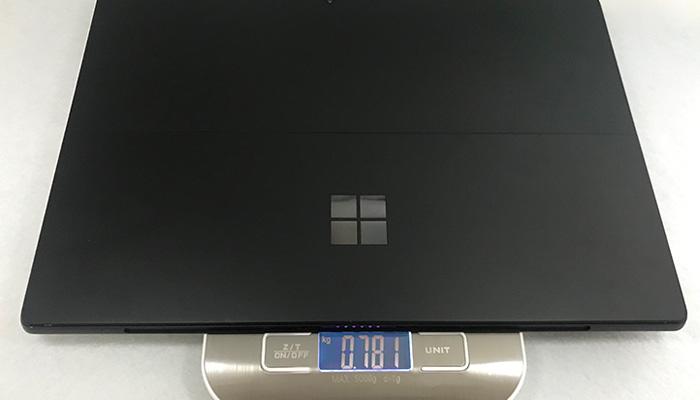 Surface Pro6 重量