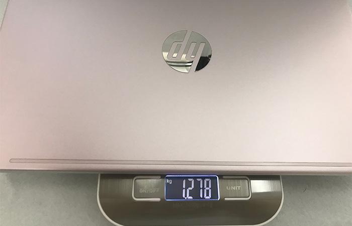 HP Pavilion13 本体重量