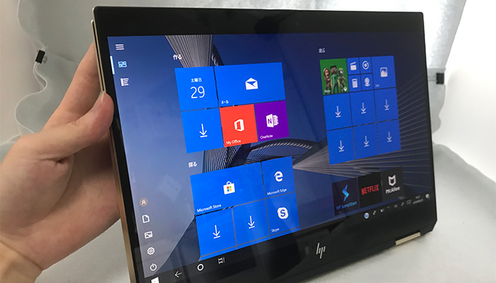hp-spectrex360-13 タブレットモード