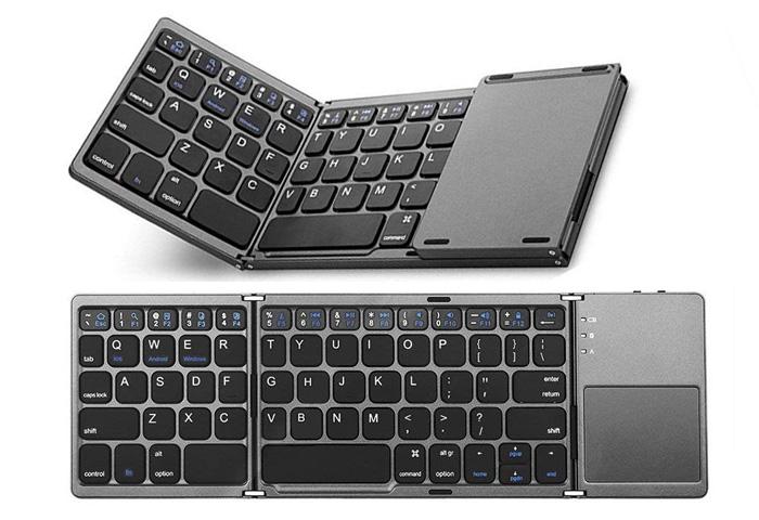 Ewin 折りたたみ式 Bluetoothキーボード
