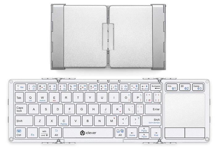 iClever タッチパッド付き IC-BK08