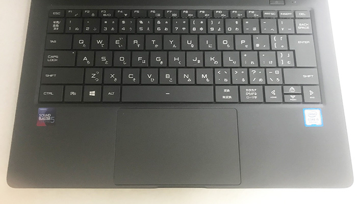 m-book x400 キーボード
