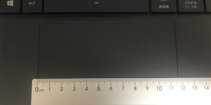 m-book-x400 タッチパッド
