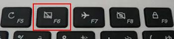 キーボード無効化キー