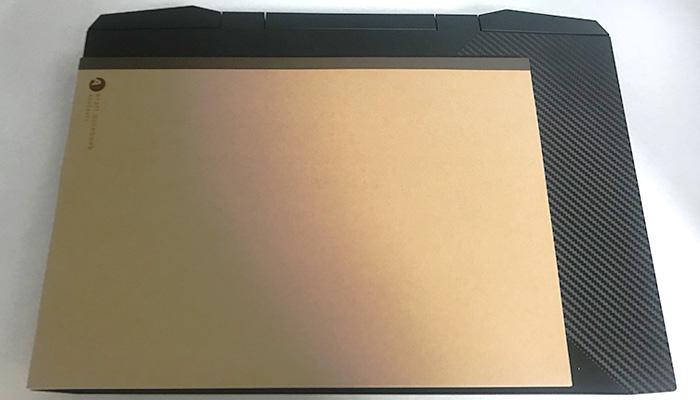 OMEN by HP 15 A4サイズと比較