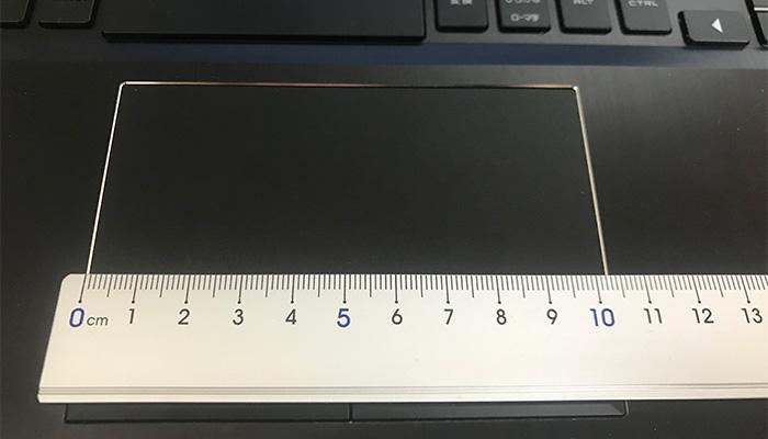 OMEN by HP 15 タッチパッド