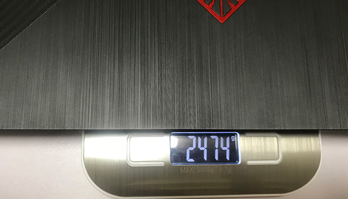OMEN by HP 15 本体の重量