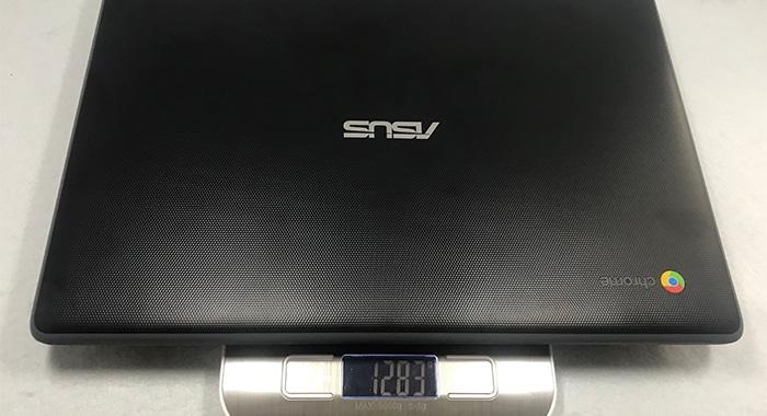 ASUS Chromebook C214MA 本体重量
