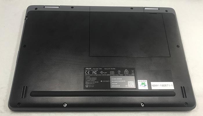 ASUS Chromebook C214MA 底面