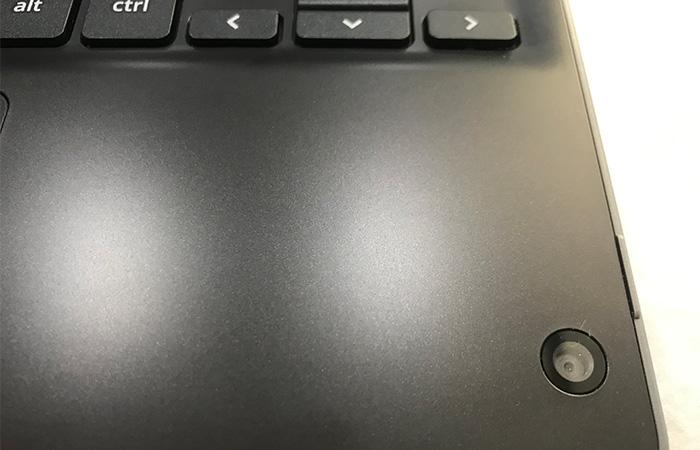 ASUS Chromebook C214MA タブレット時のカメラ