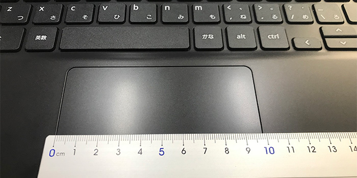 ASUS Chromebook C214MA タッチパッド