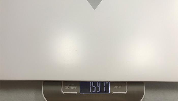 B509H 本体の重量