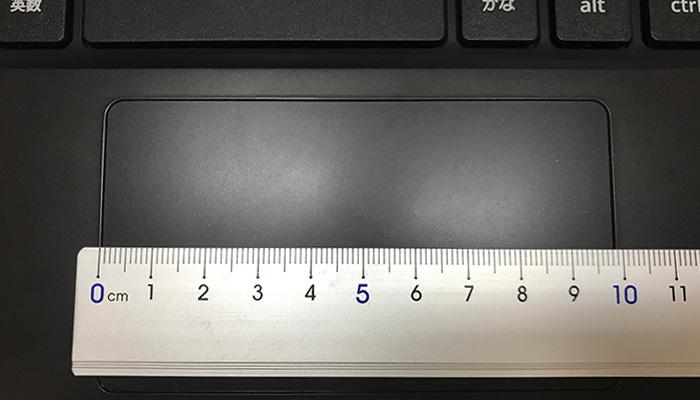 C213NA タッチパッドの幅