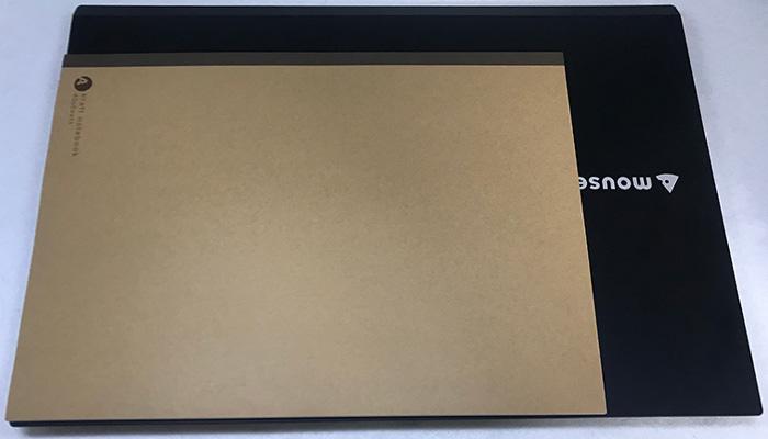 m-bookf537SD-A4サイズと比較