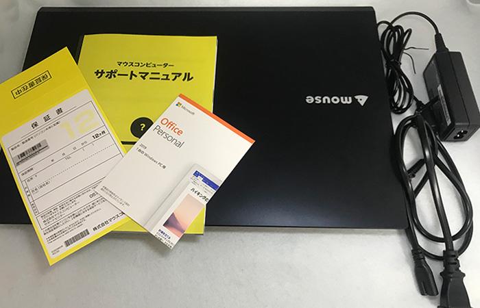 m-Book F537SD-M2SH2 同梱物