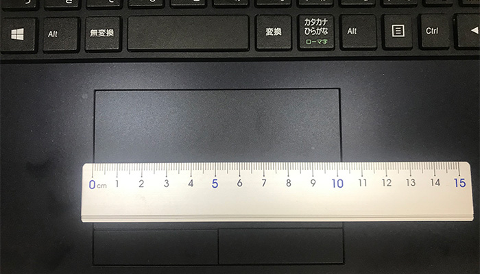 m-Book F537SD-M2SH2 タッチパッド