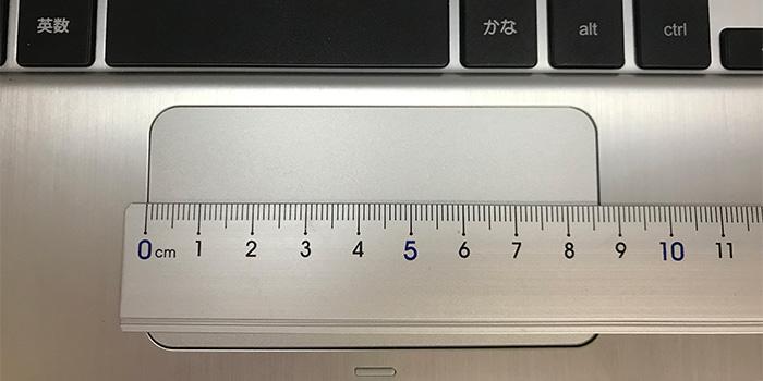 C101PA タッチパッド
