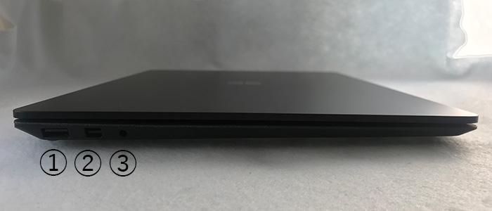 Laptop2 左側面