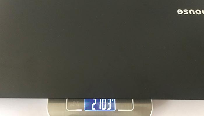 m-Book-K700SN 本体重量