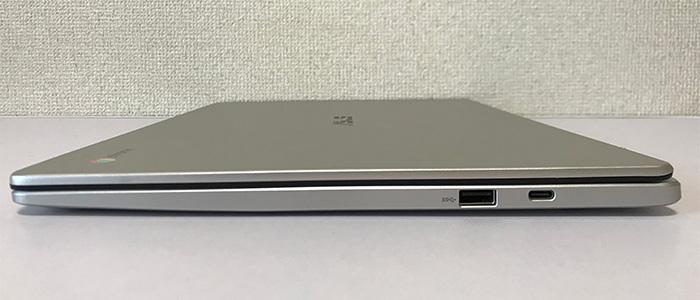 C523NA インターフェース右側