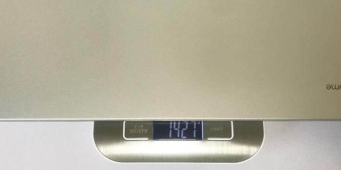 C523NA 本体重量