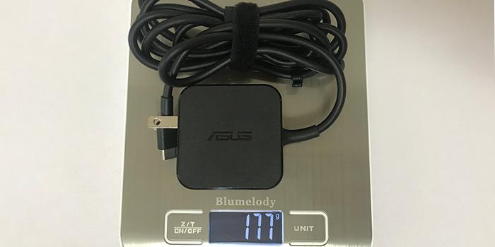 ChromeBook_C223NA-GJ0018_AC重量