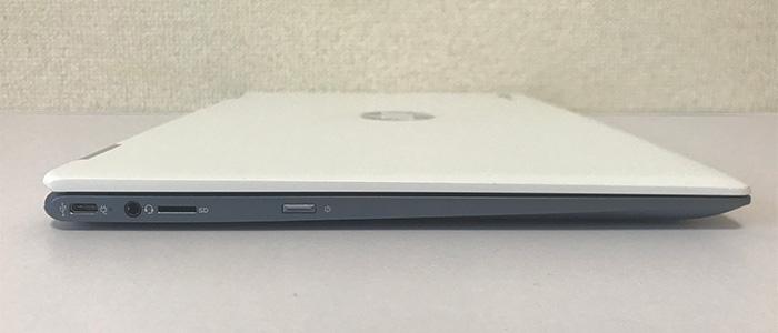 hpchromebookx360-14 インターフェース左側