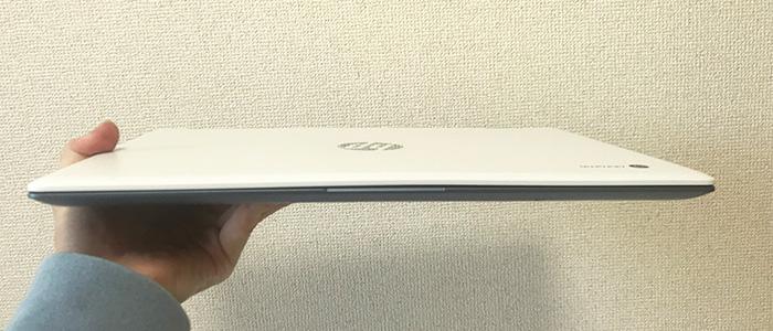 hpchromebookx360-14 薄さ