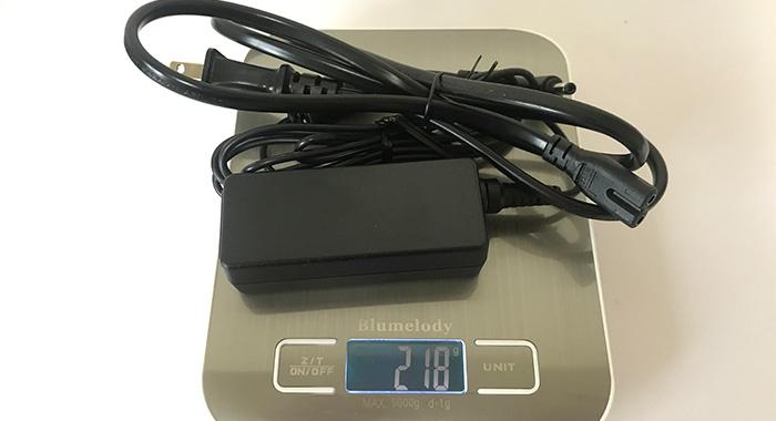 m-Book-C100E2N AC重量