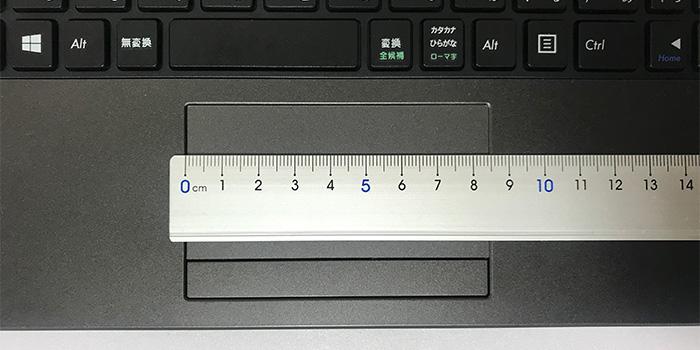 m-Book-C100E2N タッチパッド