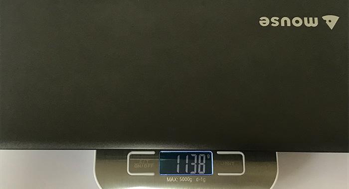 m-Book-C100E2N 重量