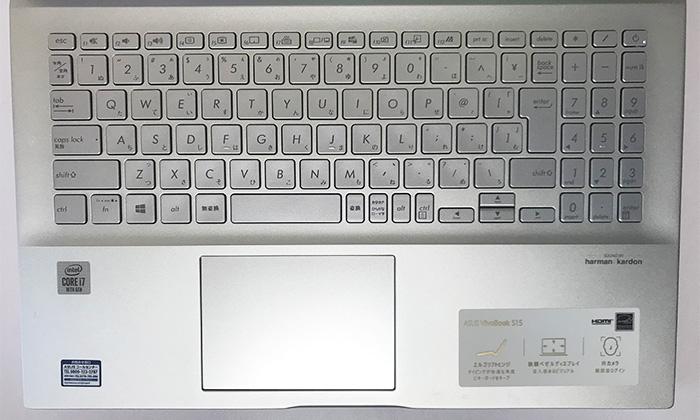 VivoBook S S531 キーボード