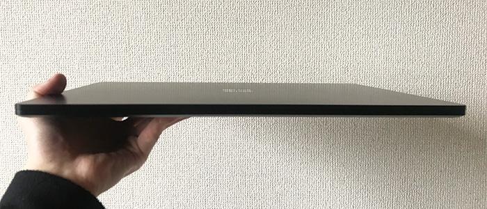 Laptop3 15 薄さ