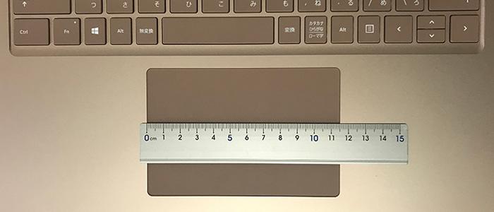 Laptop3 タッチパッド