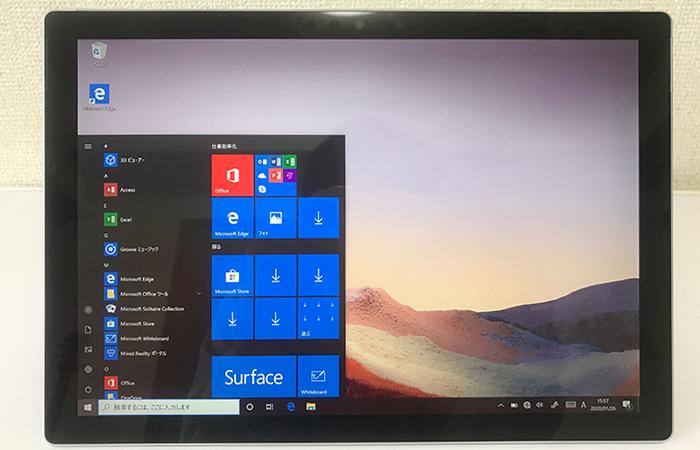 Surface Pro7 液晶