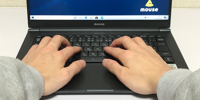 mouse X4 キーボードタッチ